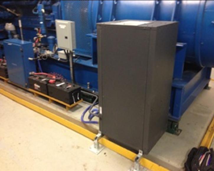 emergency generator heating solution